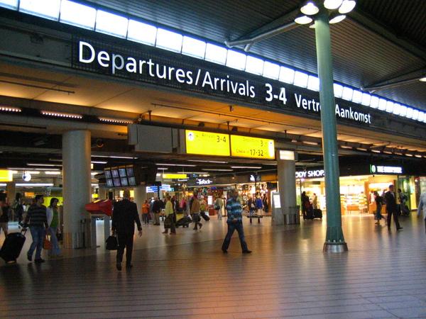 荷蘭--阿姆斯特丹機場