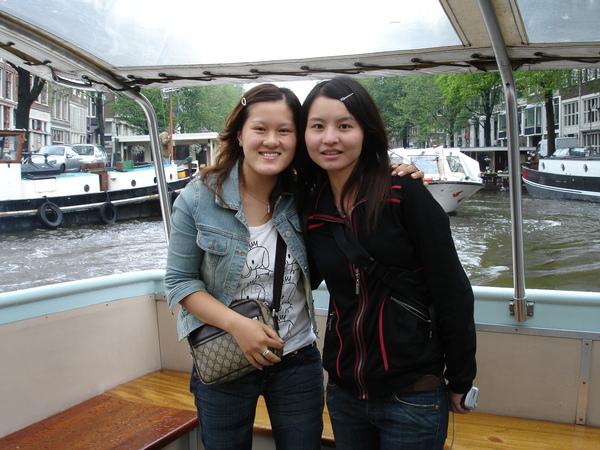 荷蘭--玻璃船--運河遊覽
