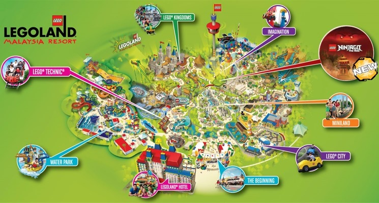 Legoland-Malaysia-Theme-Park-Map