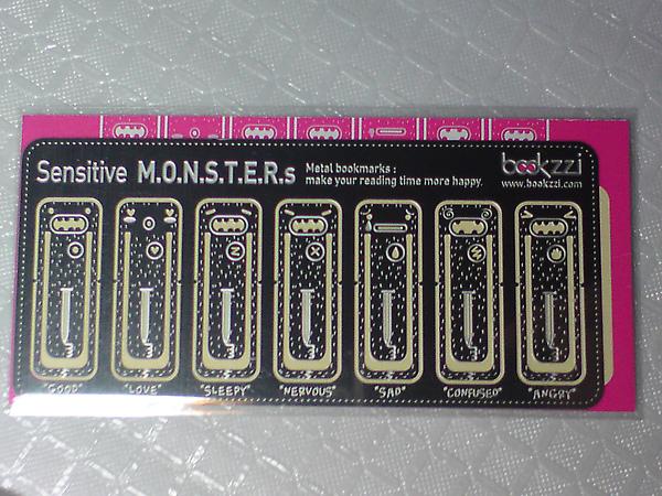 monster書籤