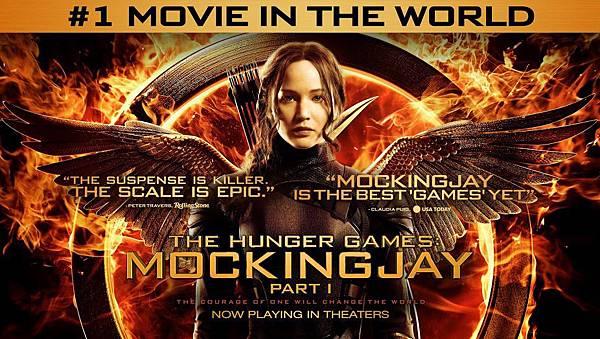 The Hunger Game Mockingjay **(飢餓遊戲:自由幻夢)**