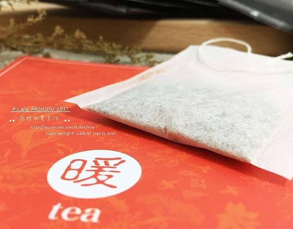 不過因為暖參茶沒有另外加糖,所以這次我似乎也就沒那麼排斥薑茶系列了 XD