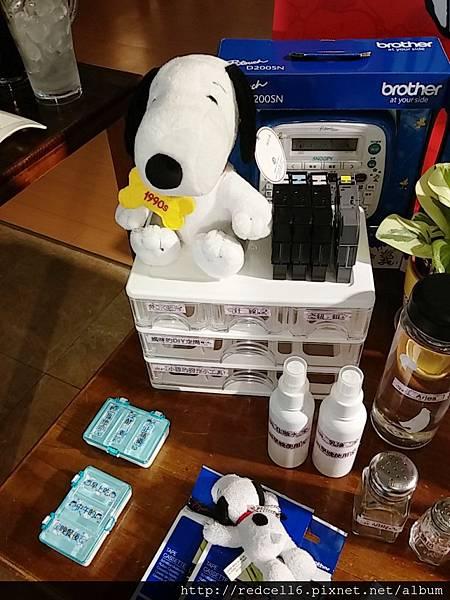 輕鬆打造獨一無二個人特色風格的Brother Snoopy創意自黏標籤機使用心得分享