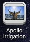 Apollo irrigation亞波羅澆灌系統APP介面照片