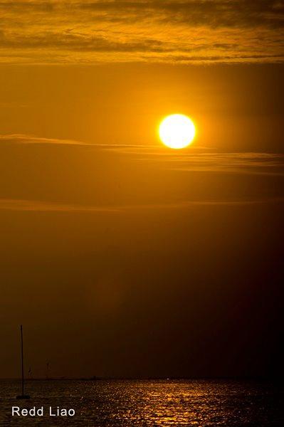 嘉義東石夕陽