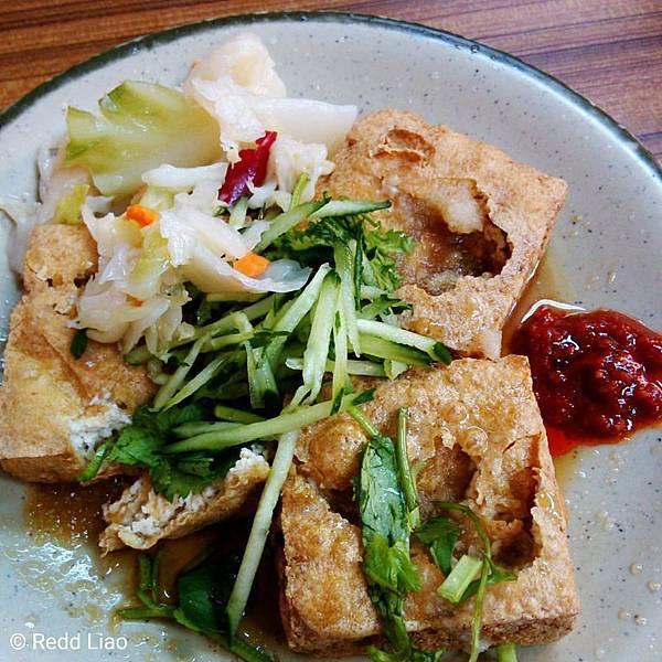 最近常吃臭豆腐