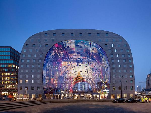 Market Hall鹿特丹市集/MVRDV