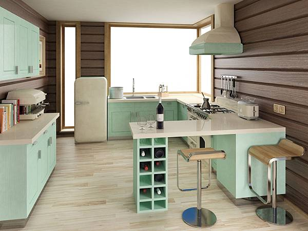 Minty-retro-kitchen-with-rustic-wood-.jpeg