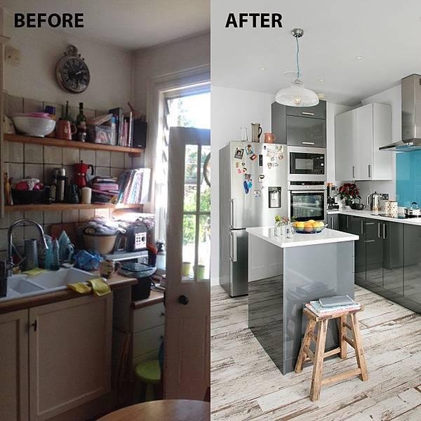 拯救不良狹窄廚房