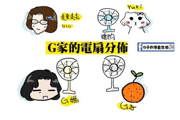 老媽對yuki的愛心電風扇1.jpg