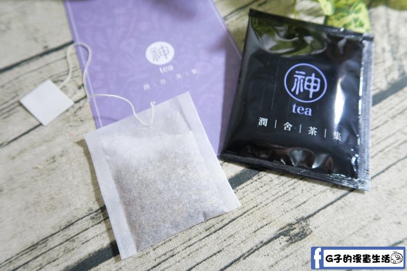 晚安茶一打開就有的薰衣草香氣,但不會太濃厚的香味