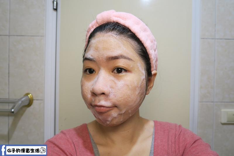 酪梨手工皂洗起來感覺很溫和清潔臉上的油脂,