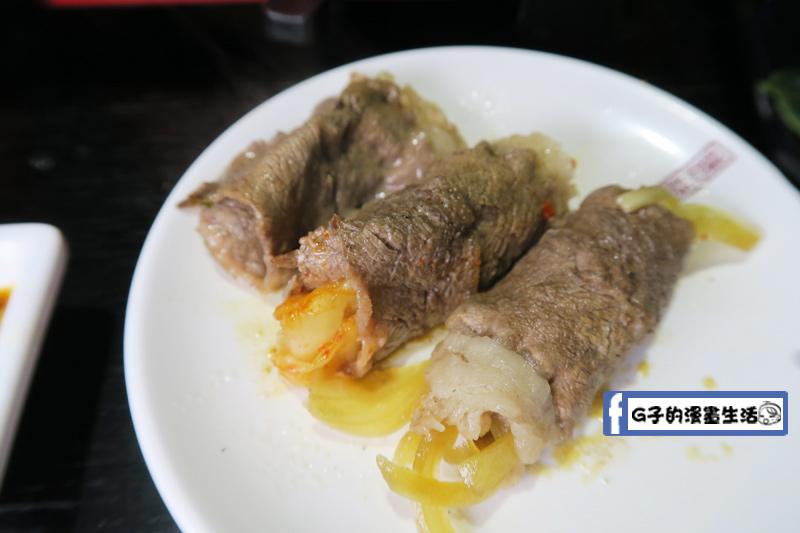 皇上吉饗極品唐風燒肉包覆泡菜