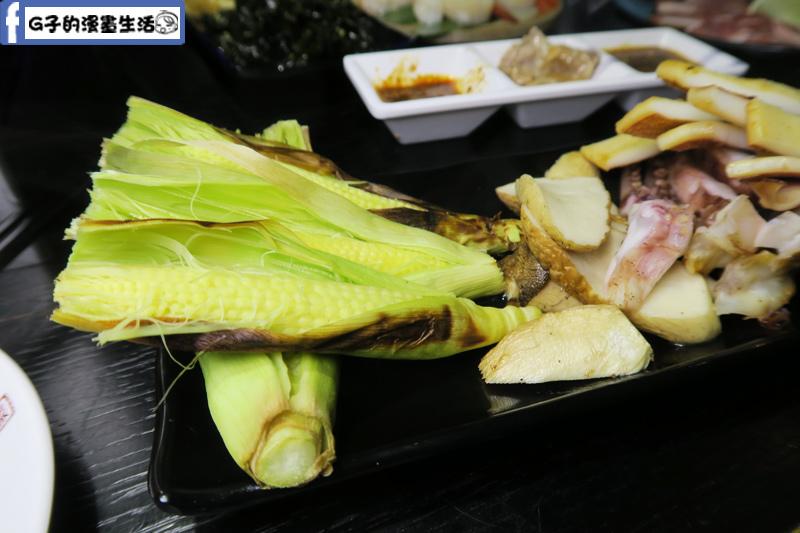皇上吉饗極品唐風燒肉玉米筍
