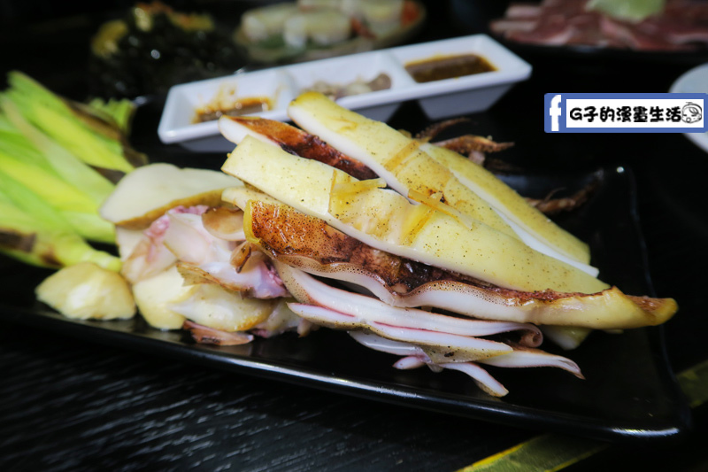 皇上吉饗極品唐風燒肉烤魷魚