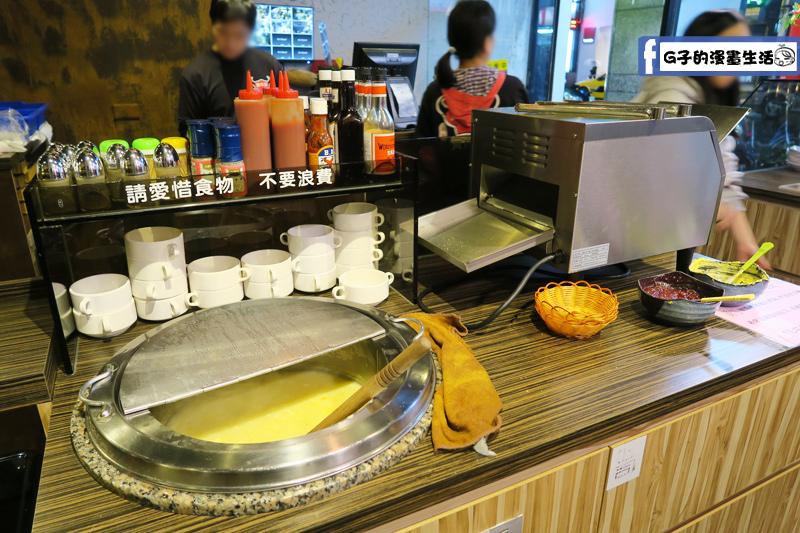 永和鮮牛排濃湯.烤吐司區
