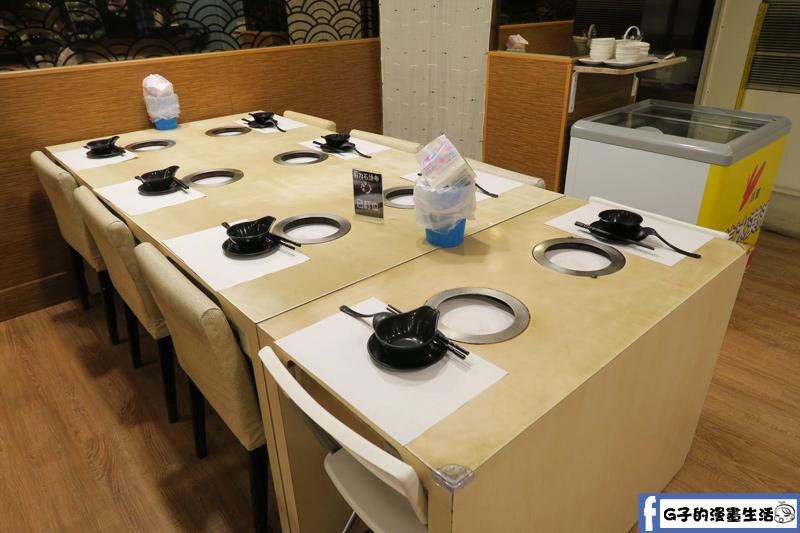 三重剪刀石頭布鍋物專賣6人座位