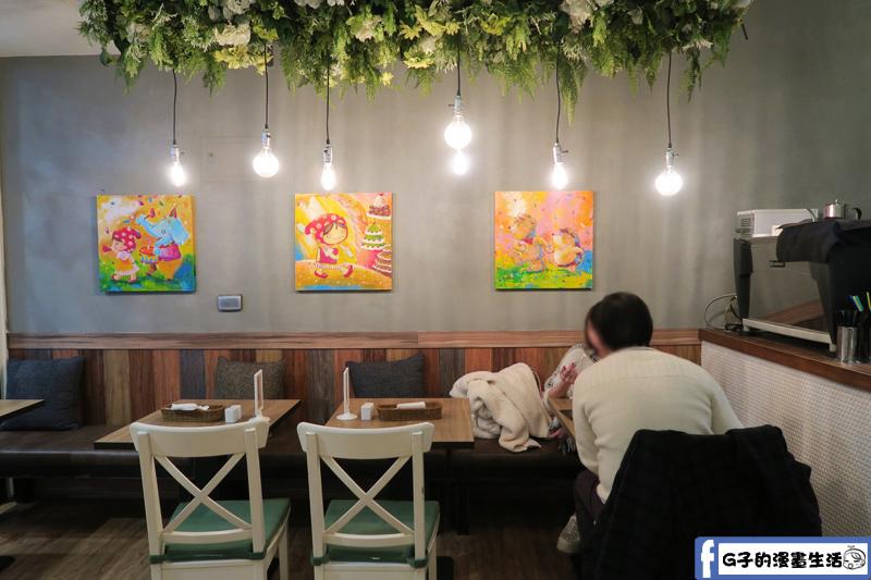 蘑菇森林餐廳環境
