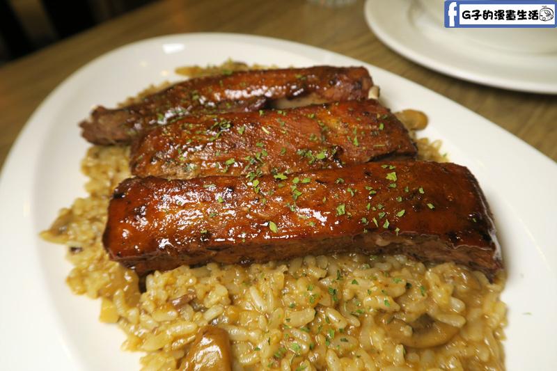 美式BBQ烤豬肋排燉飯