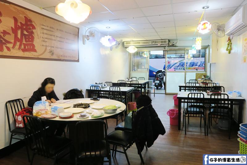 二月牌沙茶爐新莊中華店店內一樓環境