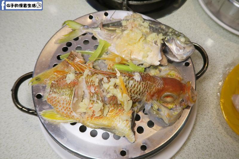 二月牌沙茶爐海鮮塔銀鯧.魚