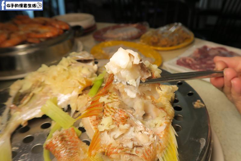 二月牌沙茶爐魚肉清甜