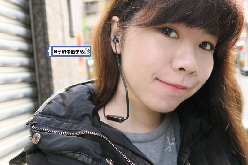 E-books 中景科技S81 藍牙4.2無線磁吸入耳式耳機真人實戴