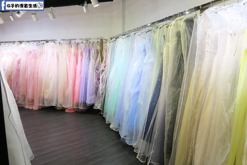 最佳風情國際婚紗影城婚紗試穿