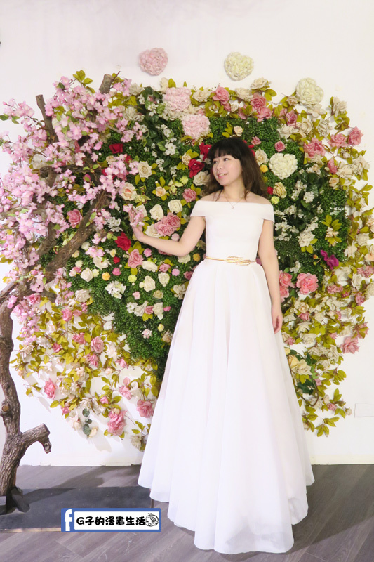 最佳風情國際婚紗影城3樓棚拍歐美白紗