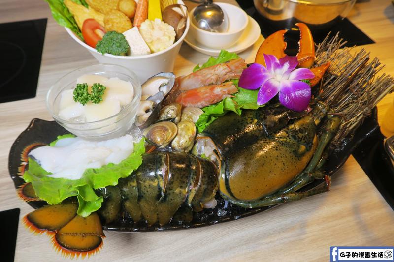 紫筵精緻火鍋 海鮮盤