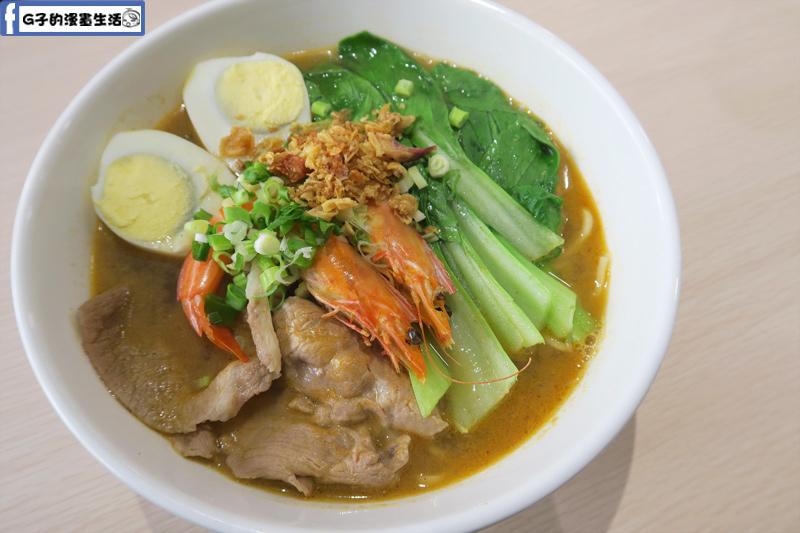 MB white coffee南洋料理餐廳 檳城蝦麵
