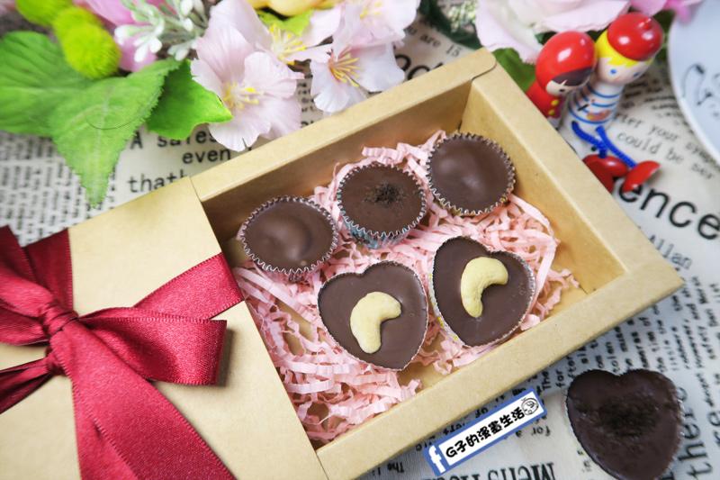 情人節DIY手工巧克力,巧克力裝盒就是精美禮物