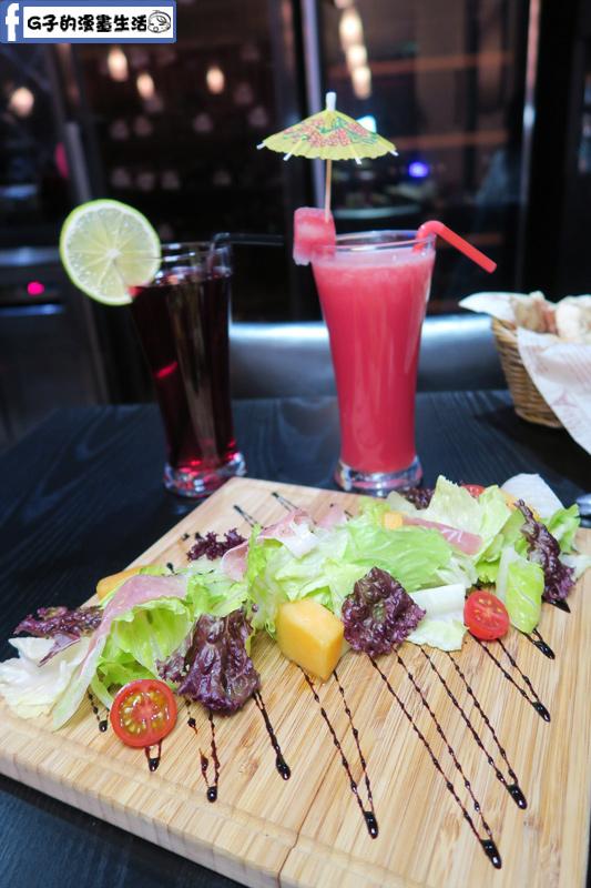 O'Steak 歐法牛排 法國餐廳 帕瑪火腿哈密瓜