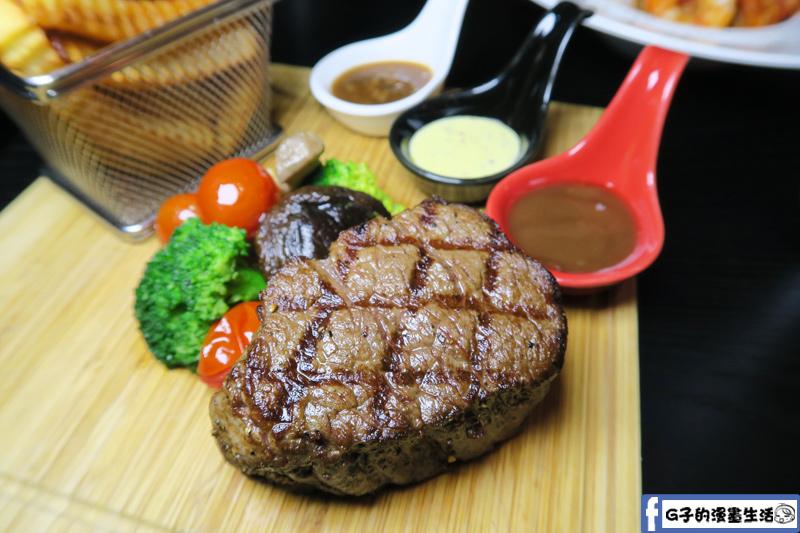 O'Steak 歐法牛排 法國餐廳 醉愛牛排-中份牛排8OZ