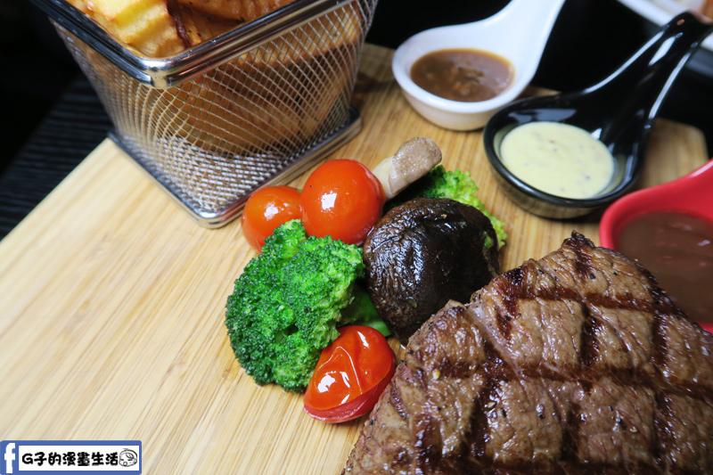 O'Steak 歐法牛排 法國餐廳 醉愛牛排蔬菜