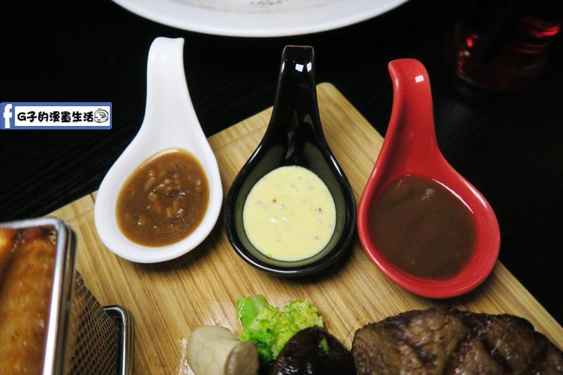 O'Steak 歐法牛排 法國餐廳 醉愛牛排三種醬