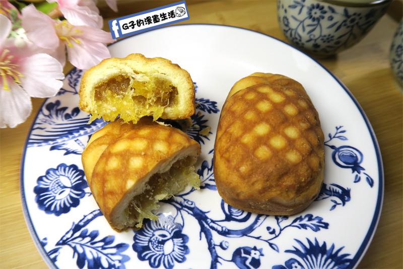 谷阿莫鳳梨酥-金黃色鳳梨酥