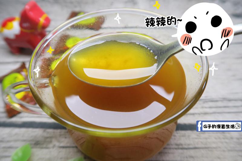 豐滿生技博士紅薑黃-薑黃黑糖-老薑母 喝起來辣辣的 溫口