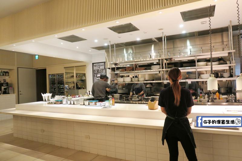 amba台北中山意舍酒店-Buttermilk摩登美式餐廳 開放式廚房