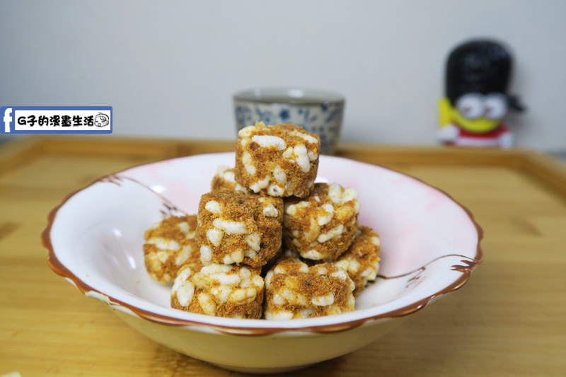 東大興食品-魚鬆小丸子(米果)-頭一次吃到魚鬆結合米果