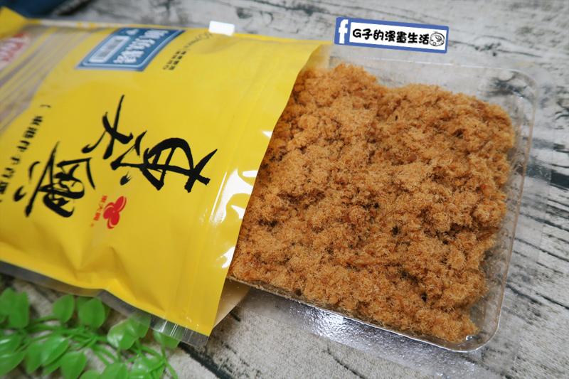 東大興食品-100%純旗魚鬆口感蓬鬆