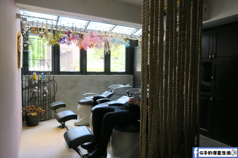中山站一間髮藝-洗髮區