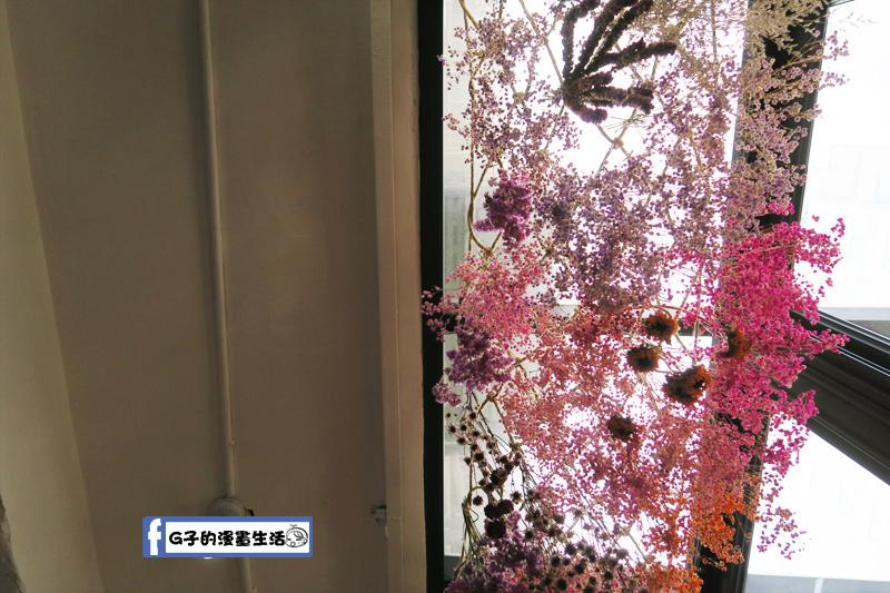 中山站一間髮藝-我洗髮的視野 美美的乾燥花