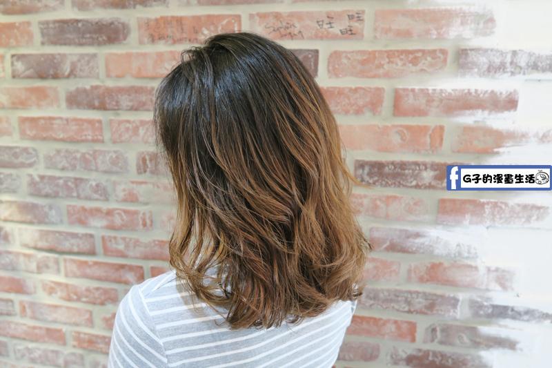 中山站一間髮藝-慢慢把漂髮修掉