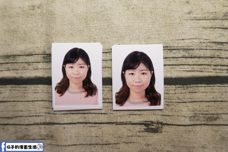 城中-銀箭照相館-數位沖洗證件照 2吋大頭照 護照大頭照