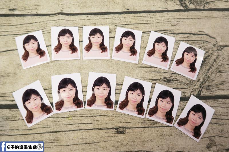 城中-銀箭照相館-數位沖洗證件照 12張 6張2吋 6張護照證件照