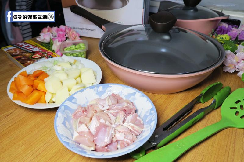 母親節大餐-雞肉咖哩蛋包飯