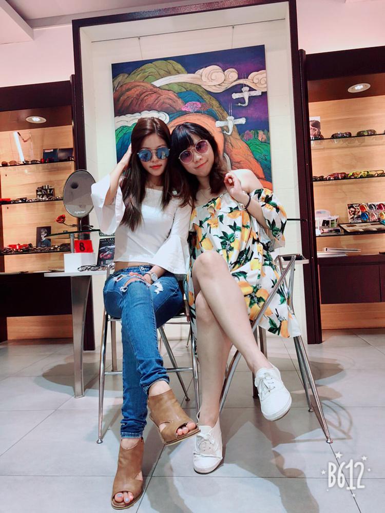 新竹聯合眼鏡 巨城店 跟Angelababy