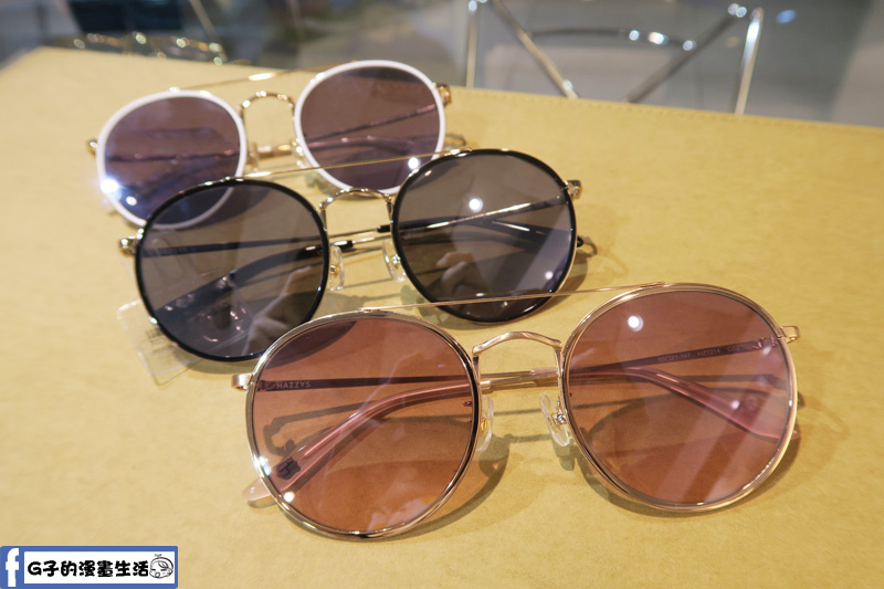 韓國品牌 HAZZYS 墨鏡新品