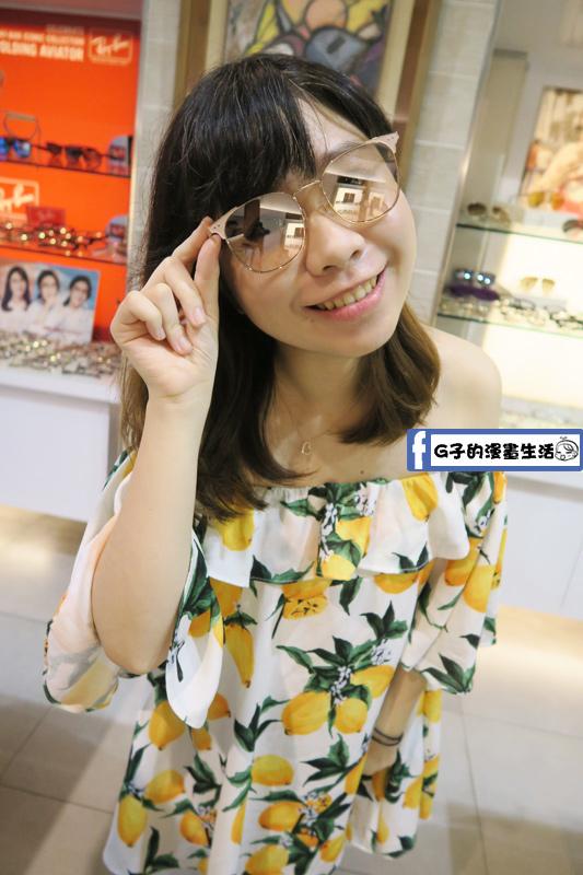 韓國品牌 HAZZYS 墨鏡 穿搭
